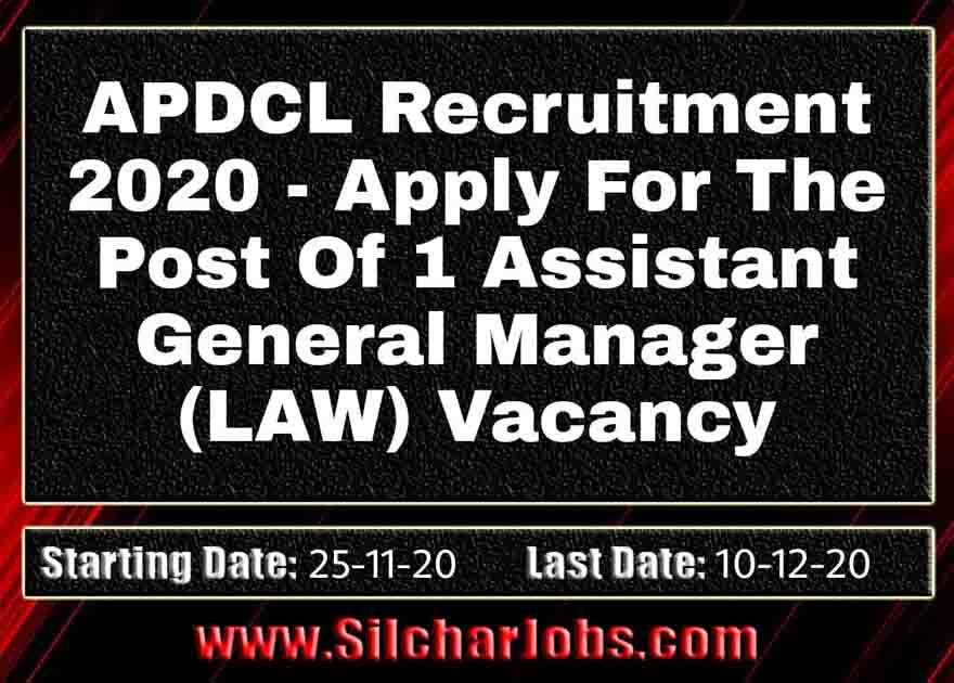 APDCL Recruitment 2020