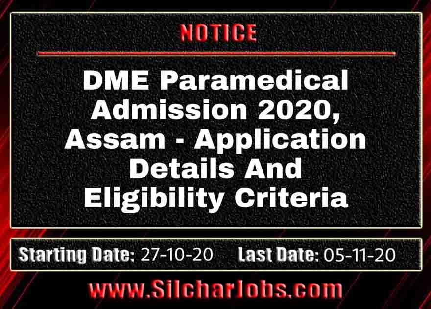 Paramedical Admission 2020