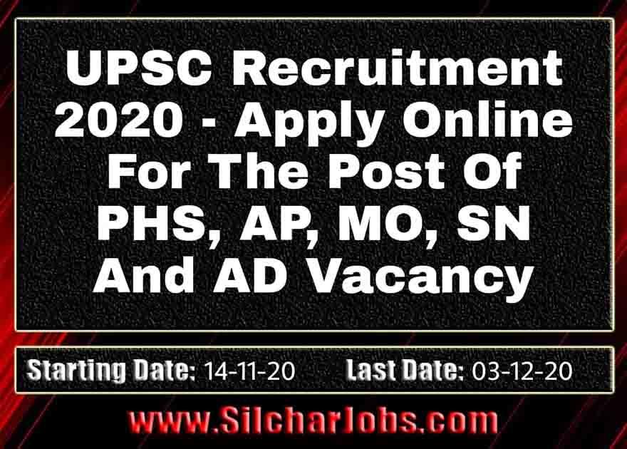UPSC Recruitment 2020, 35 Vacancy