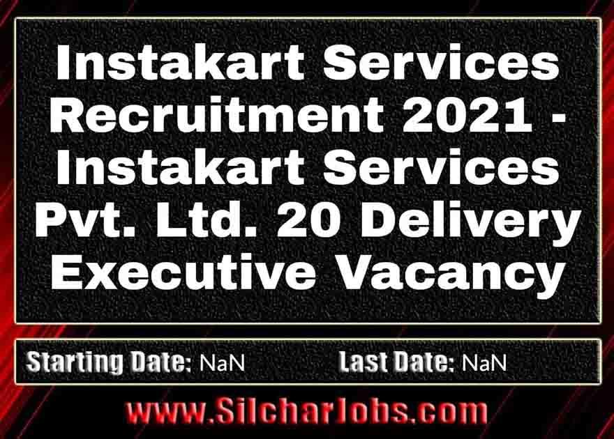 Instakart Services Recruitment 2021